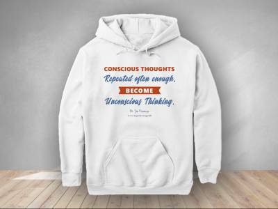 Conscious thoughts become unconscious thinking